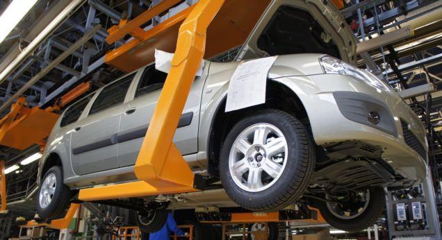 Производство Lada Largus