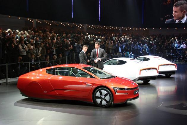 Volkswagen XL1, красавцы