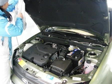 Двигатель автомобиля Лада Калина