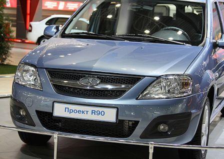 Новая модель АвтоВАЗа Lada R90