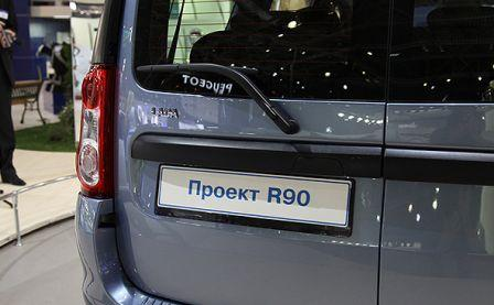 Проект R90 - Lada Largus