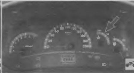 Повышенная температура охлаждающей жидкости (перегрев двигателя)
