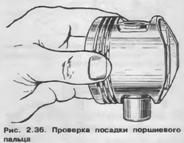 Проверка посадки поршневого кольца