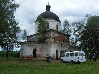 Храм в Кузьминке