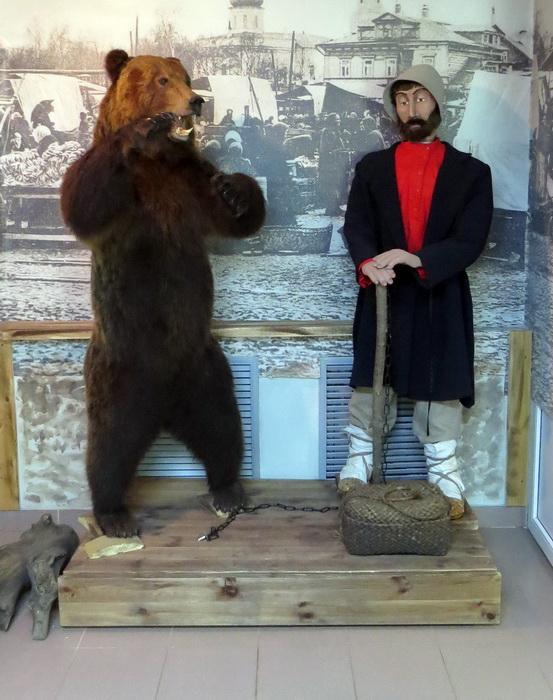 Экспозиция в сергачском музее