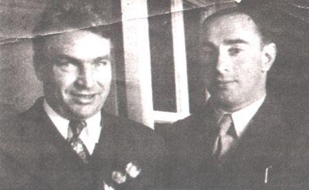 Валерий Чкалов и Нисон Капелюш