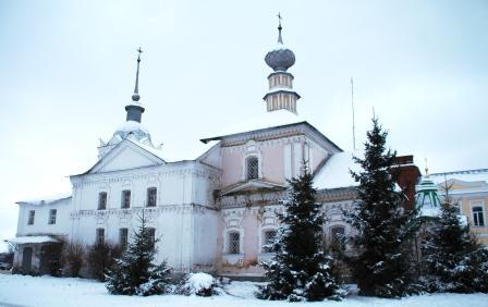 Прощеное воскресение. Православный храм