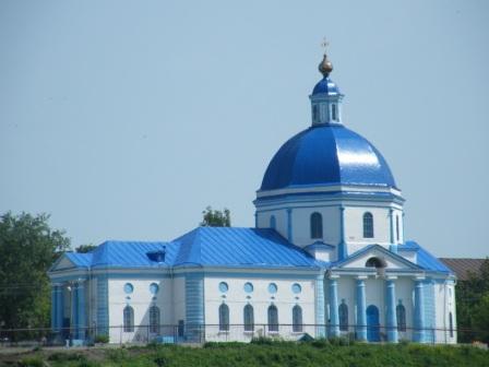 Город Сергач. Владимирский Собор