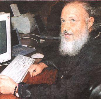 Митрополит Кирилл после онлайн-конференции