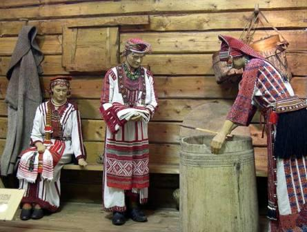Мордва Сергачского уезда