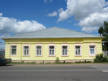 В этом здании ранее находилась Сергачская начальная школа № 18