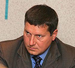 Мэр Нижнего Олег Сорокин