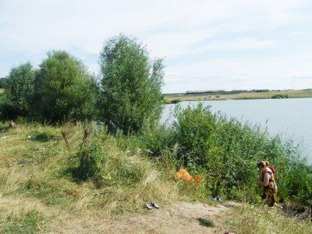 Озеро Бездонное, село Толба
