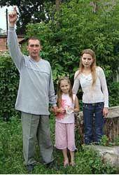 Семья Воронежских, похищенная внеземными существами