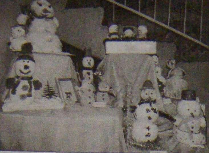 Город снеговиков