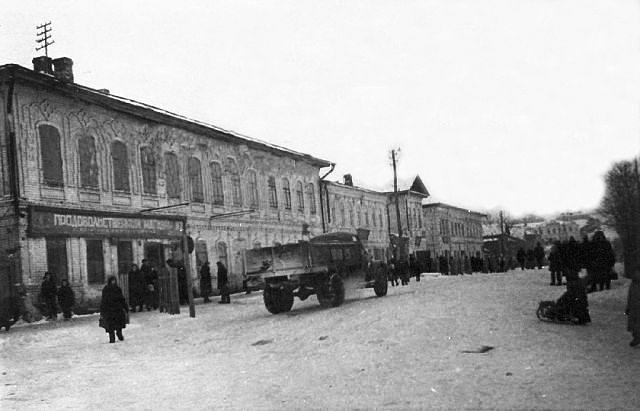 Центр Сергача (Советская)