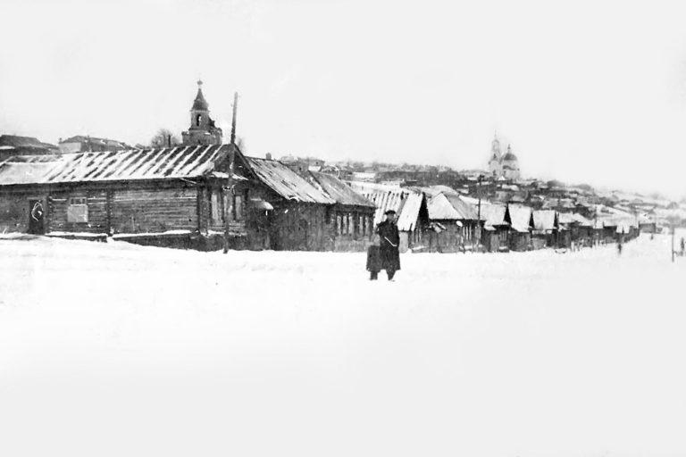 Центр Сергача с пл. Ленина