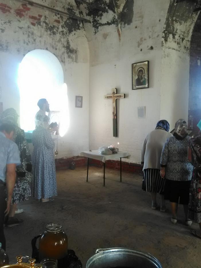 Кузьминка. Окончание Богослужения на Медовый Спас