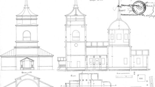 Храм Казанской иноны Божьей Матери в селе Алексеевское (проект)