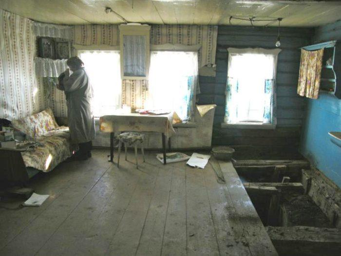 Фото деревенского дома внутри
