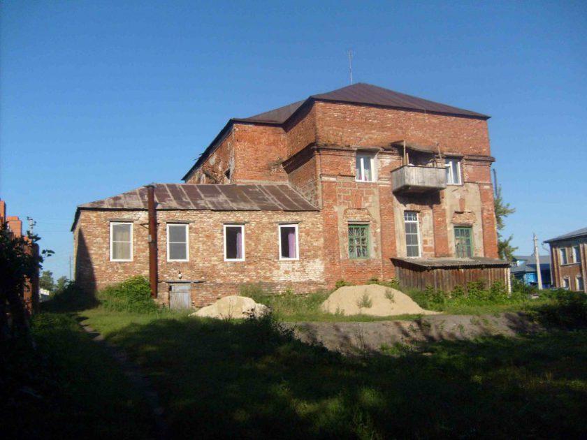 Покровский храм в Б. Мурашкино