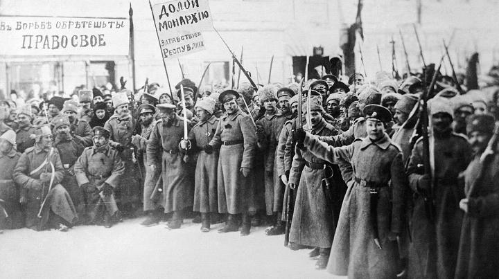 Февральская революция и жители Березни