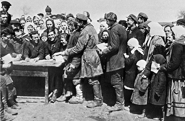 Коллективизация в Березне