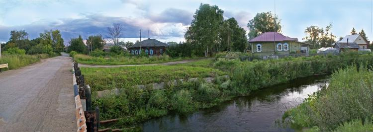 Старая Березовка Сергачского района, вид на село