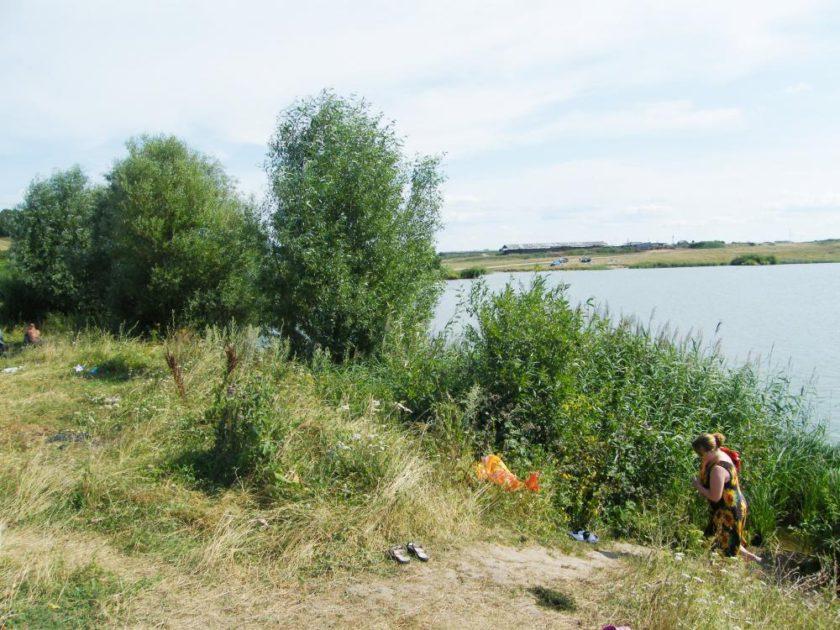 Озеро Бездонное около села Толба Сергачского района