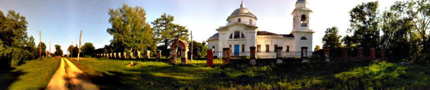 Быковка. Храм Рожлества Христова