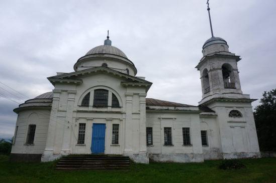 Храм села Быковки