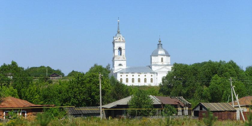 Церковь в селе Богородское