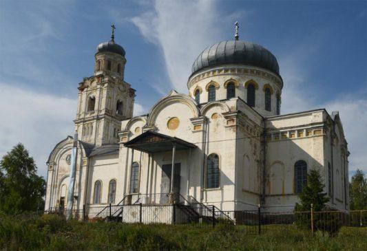 Церковь Михаила Архангела в Гусево (Кладбищах)