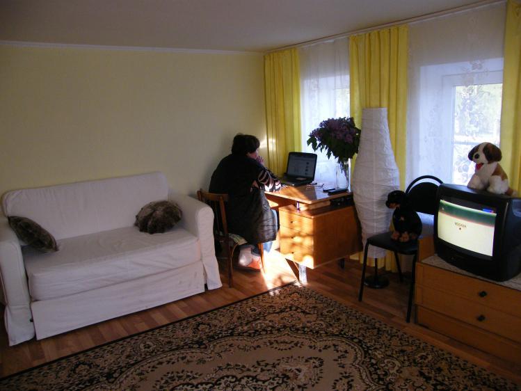 Вот такая светлая комната получилась
