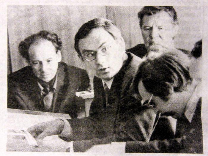 Ликарев Н.М. на совещании