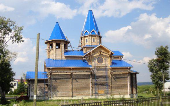 Церковь в селе Гагино Нижегородской области