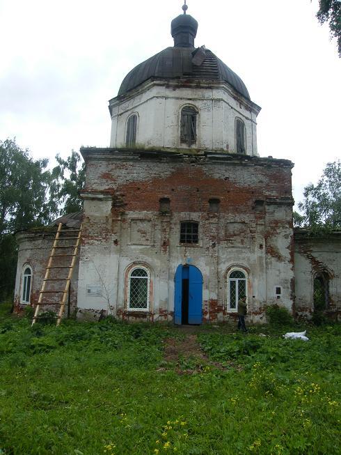 Храм без деревьев на крыше