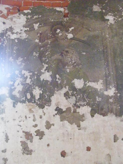 Храм, фреска 1