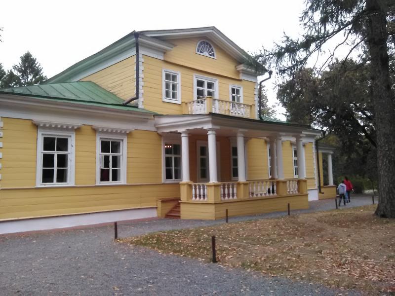Дом-усадьба Пушкина в Болдино