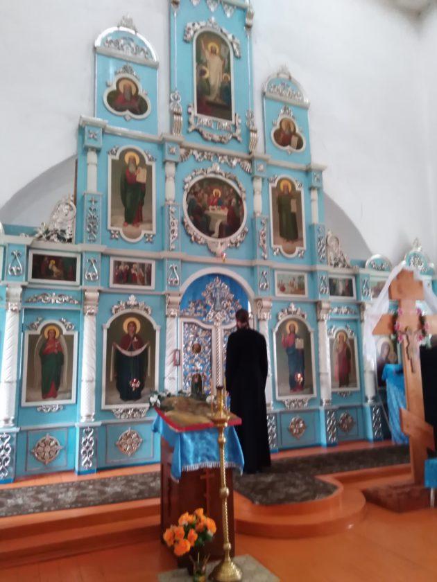 Храм в с. Богородское, восстановленный Лакеевым Н.А.