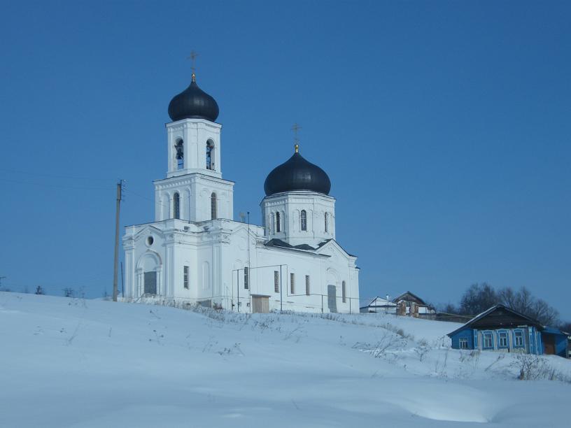 Ильинская церковь в Сергаче (Ключево)