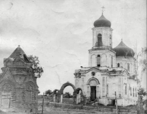 Ильинская церковь в Ключево