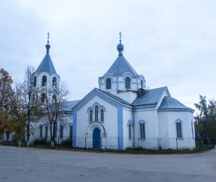 Успенский храм в Княгинино