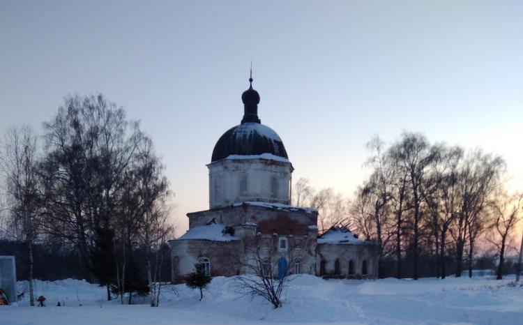 Церковь в селе Кузьминка