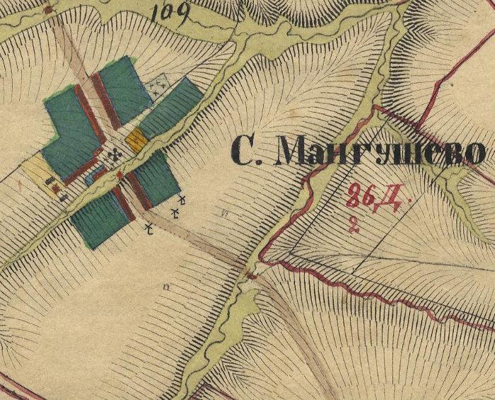Мангушево на карте