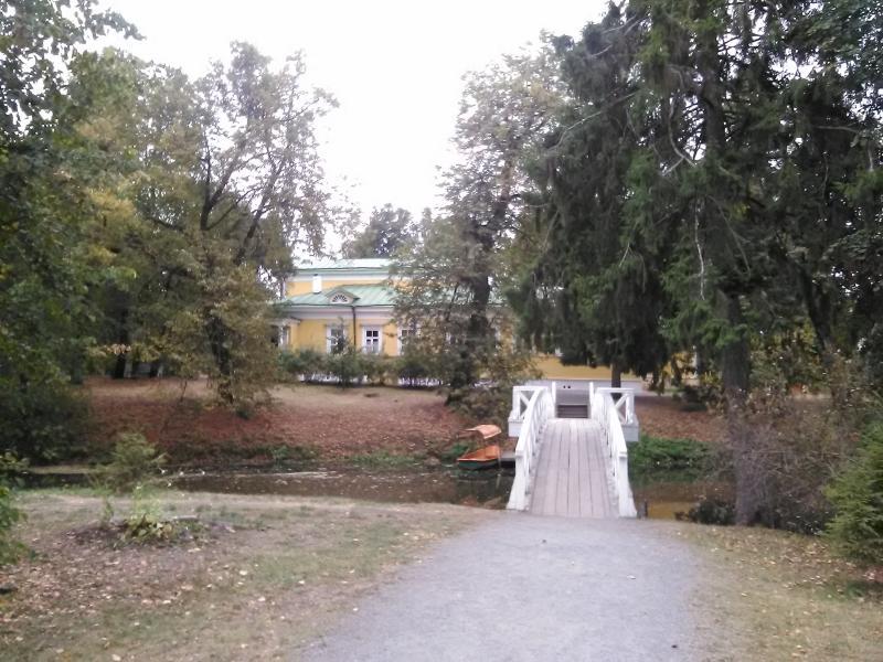 Мостик в имении Пушкина в Болдино