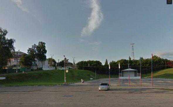 Вид на место дома Ященко