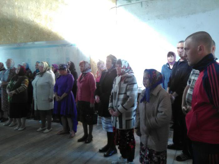 На богослужении в храме иконы Казанской богоматери в Кузьминке