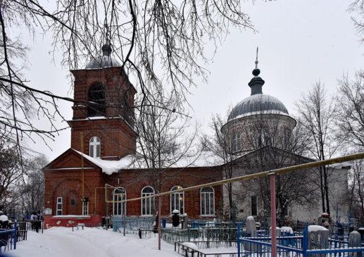 Напольная (Иоанна Милостивого) церковь в Сергаче