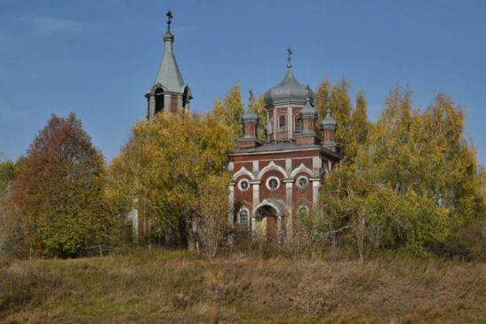Храм в селе Осиновка Гагинского района